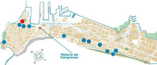 Mapa Hotel Argantonio