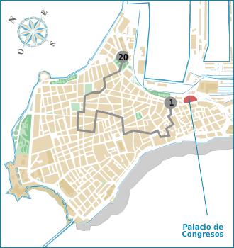 Ruta - calles y plazas